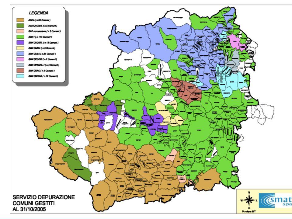La Provincia di Torino si avvale delle competenze di SMAT per listruttoria di autorizzazione integrata ambientale, nei casi di aziende soggette ad IPPC con scarichi di acque reflue industriali recapitanti in rete fognaria