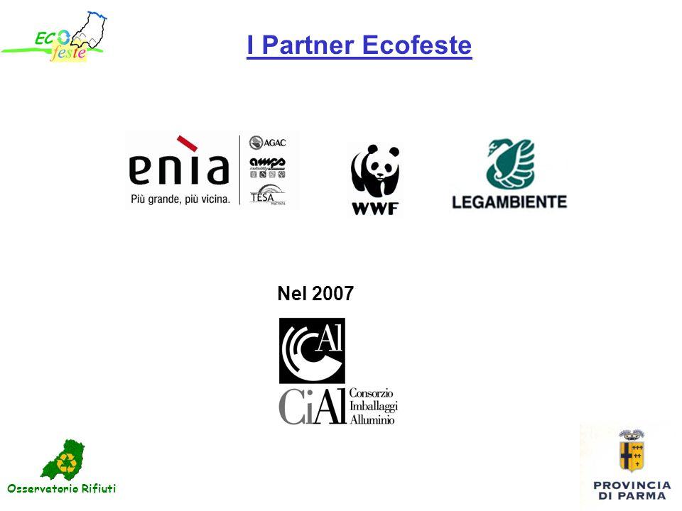I Partner Ecofeste Nel 2007