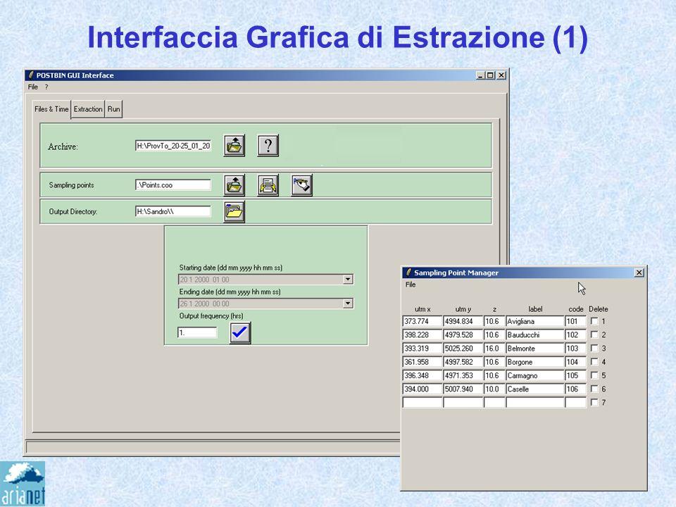 Interfaccia Grafica di Estrazione (1)