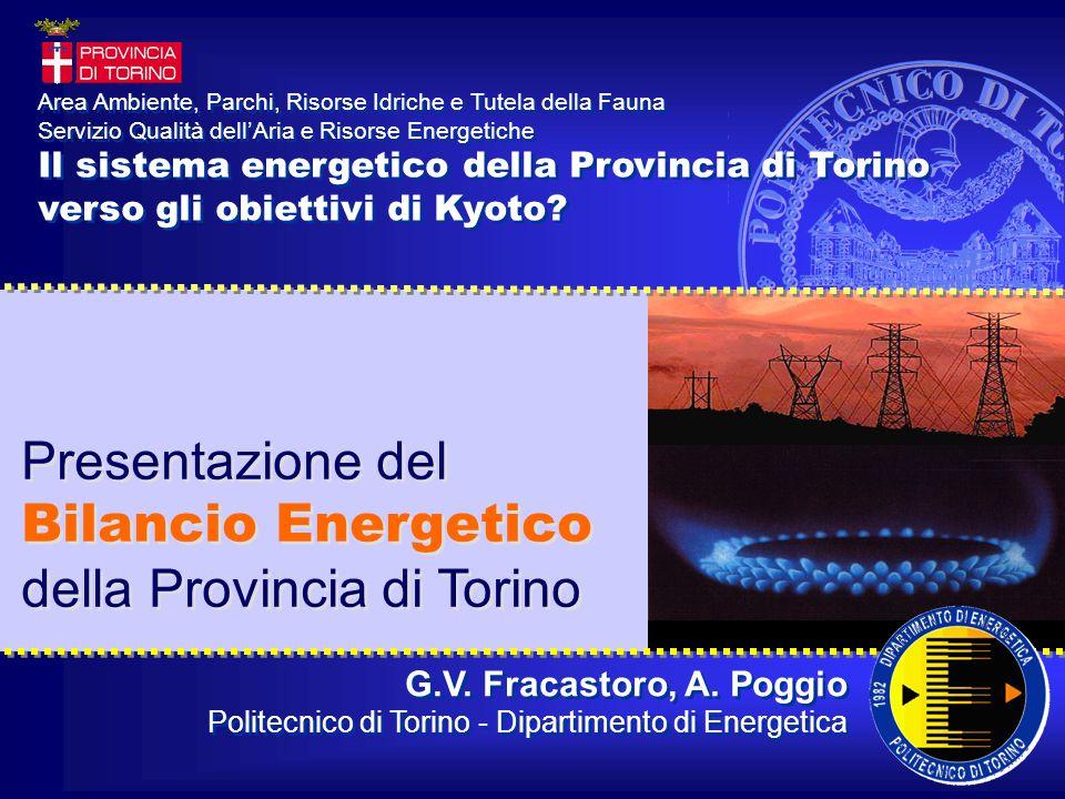 G.V. Fracastoro, A. Poggio Politecnico di Torino - Dipartimento di Energetica G.V.
