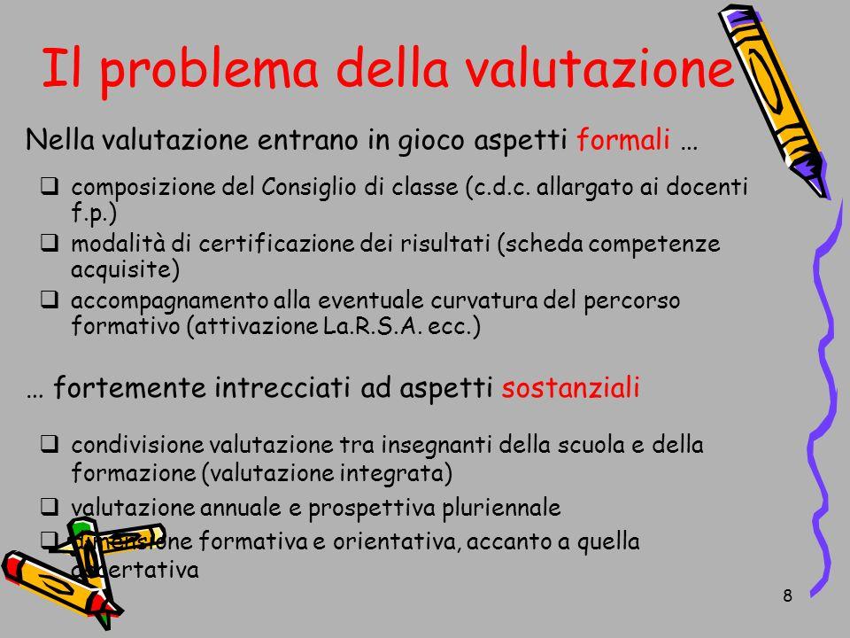 9 Valutazione formativa e orientativa Valutazione formativa:...