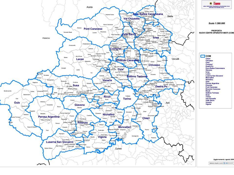 Area Territorio, Trasporti e Protezione Civile - Servizio Protezione Civile