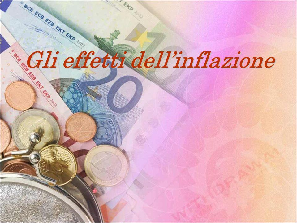 Gli effetti dellinflazione