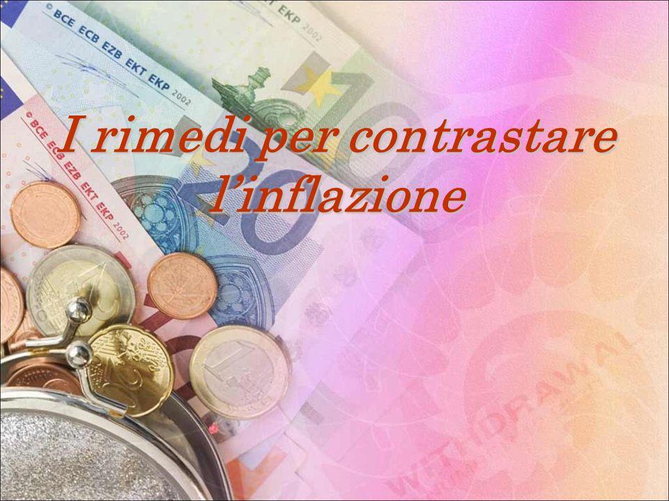 I rimedi per contrastare linflazione