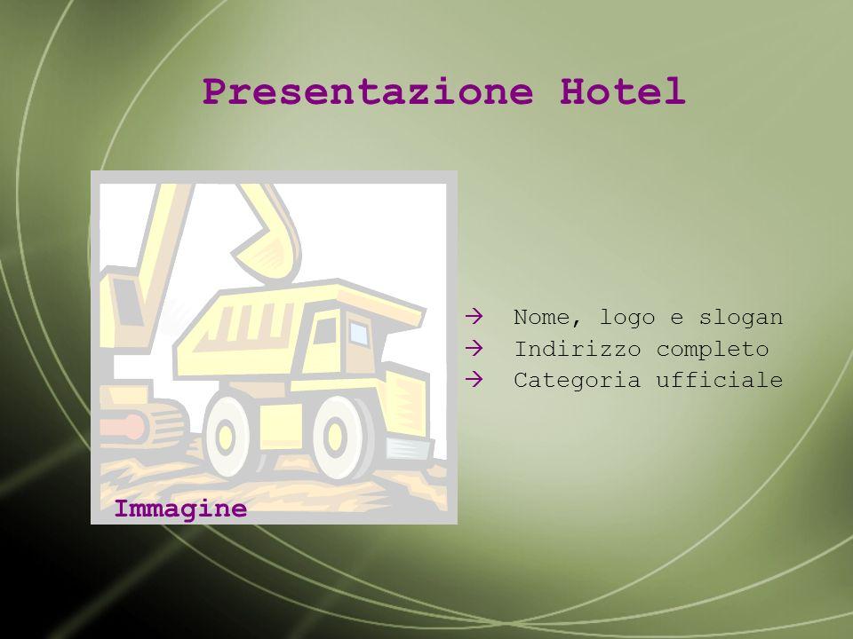 Elabora una presentazione multimediale per promuovere le caratteristiche e i servizi principali offerti dal tuo albergo. La traccia proposta si compon