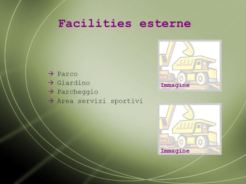 Servizi accessori Sale e aree congressi Centro benessere Palestra Area shopping Immagine