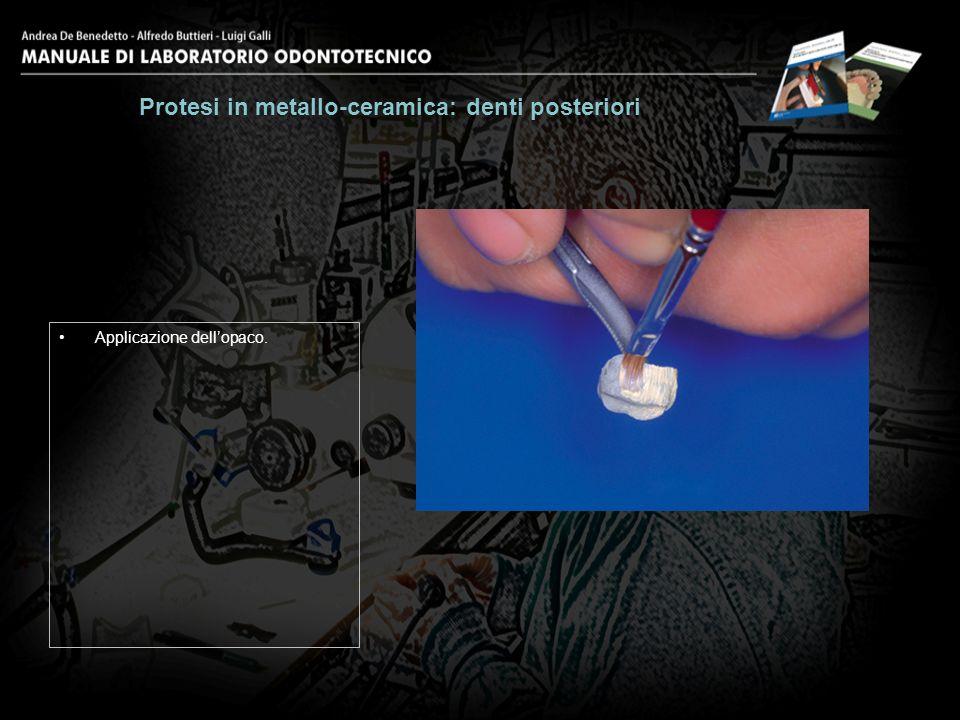 Ottimizzazione della superficie con pennello asciutto.