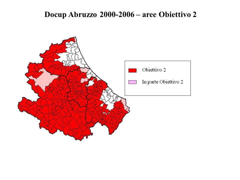 Docup Abruzzo 2000-2006 – aree Obiettivo 2