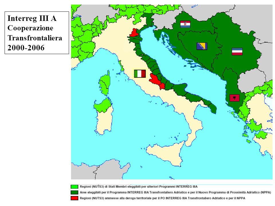 Interreg III A Cooperazione Transfrontaliera 2000-2006