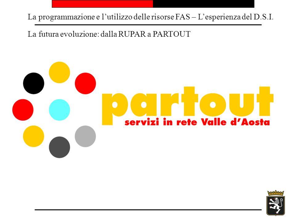 La programmazione e lutilizzo delle risorse FAS – Lesperienza del D.S.I.