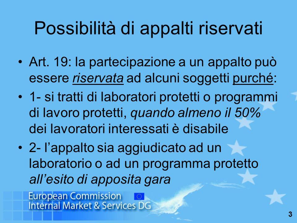 14 Verifica dei requisiti di capacità delloperatore (art.