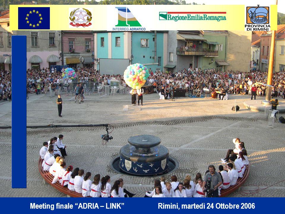 Meeting finale ADRIA – LINK Rimini, martedì 24 Ottobre 2006