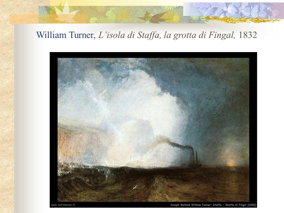 William Turner, Lisola di Staffa, la grotta di Fingal, 1832
