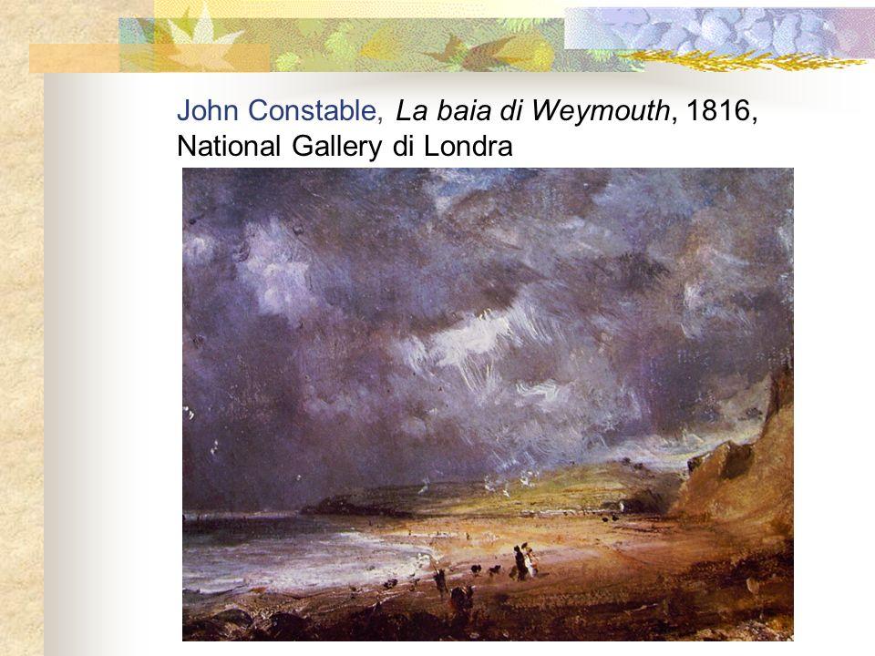 John Constable, La baia di Weymouth, 1816, National Gallery di Londra