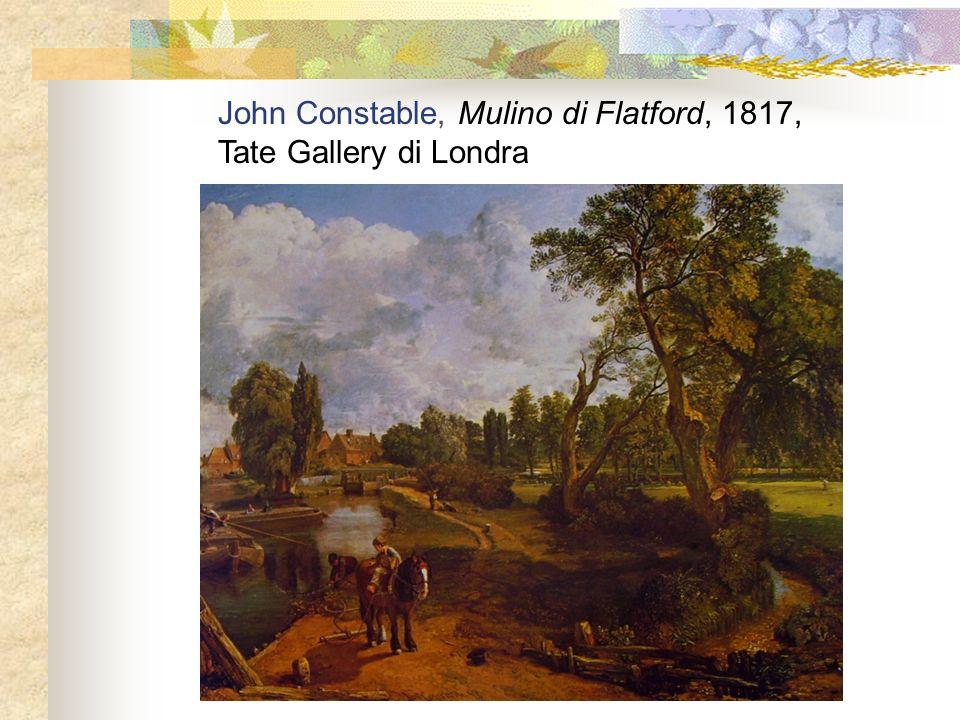 John Constable, Mulino di Flatford, 1817, Tate Gallery di Londra