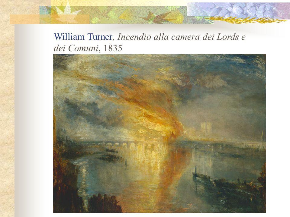 William Turner, Incendio alla camera dei Lords e dei Comuni, 1835