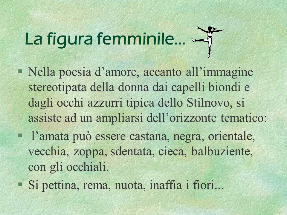 La figura femminile...