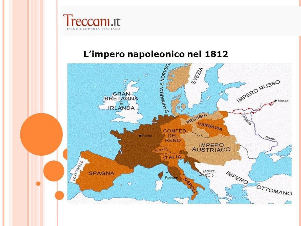 Limpero napoleonico nel 1812