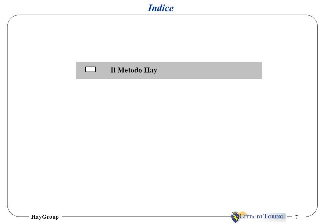 HayGroup 7 Indice Il Metodo Hay
