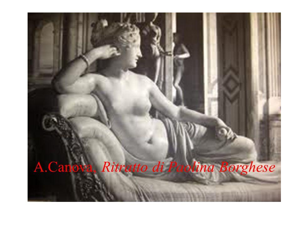 A.Canova, Ritratto di Paolina Borghese