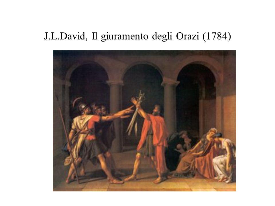 J.L.David, Il giuramento degli Orazi (1784)