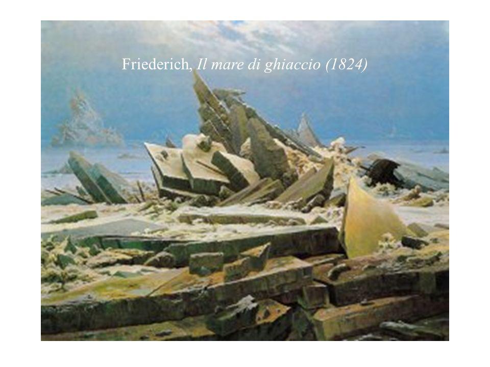 Friederich, Il mare di ghiaccio (1824)
