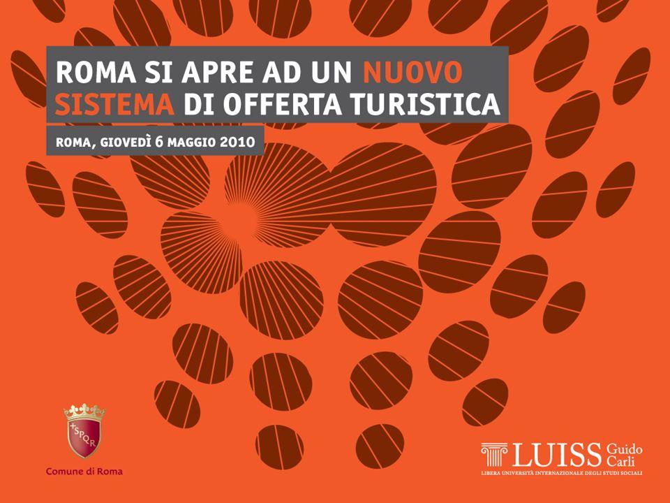 Roma, 6/5/2010 Turismo culturale: lofferta e i servizi 17