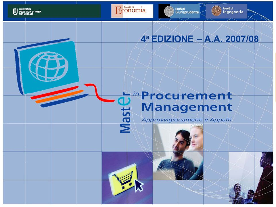 4 a EDIZIONE – A.A. 2007/08