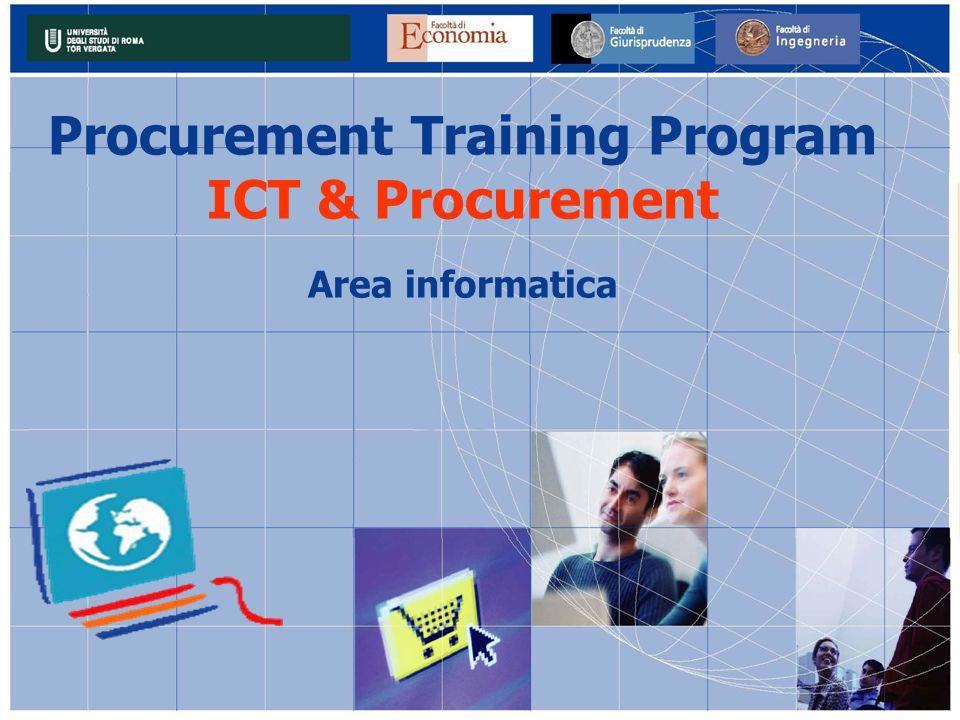 Procurement Training Program ICT & Procurement Area informatica