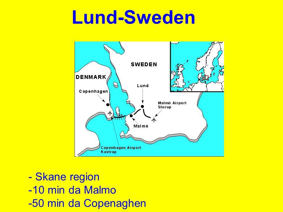 Come arrivare a Lund.