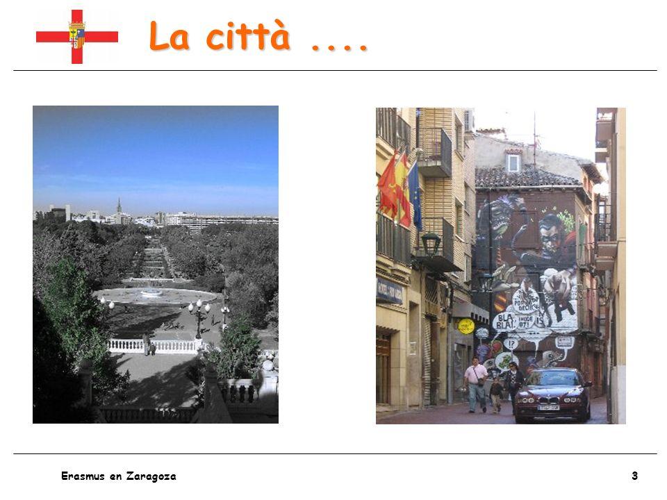 4 Erasmus en Zaragoza I trasporti....