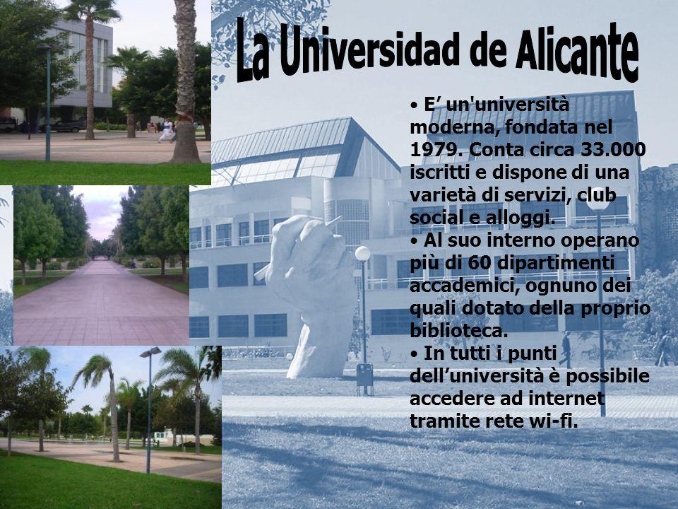 E un università moderna, fondata nel 1979.