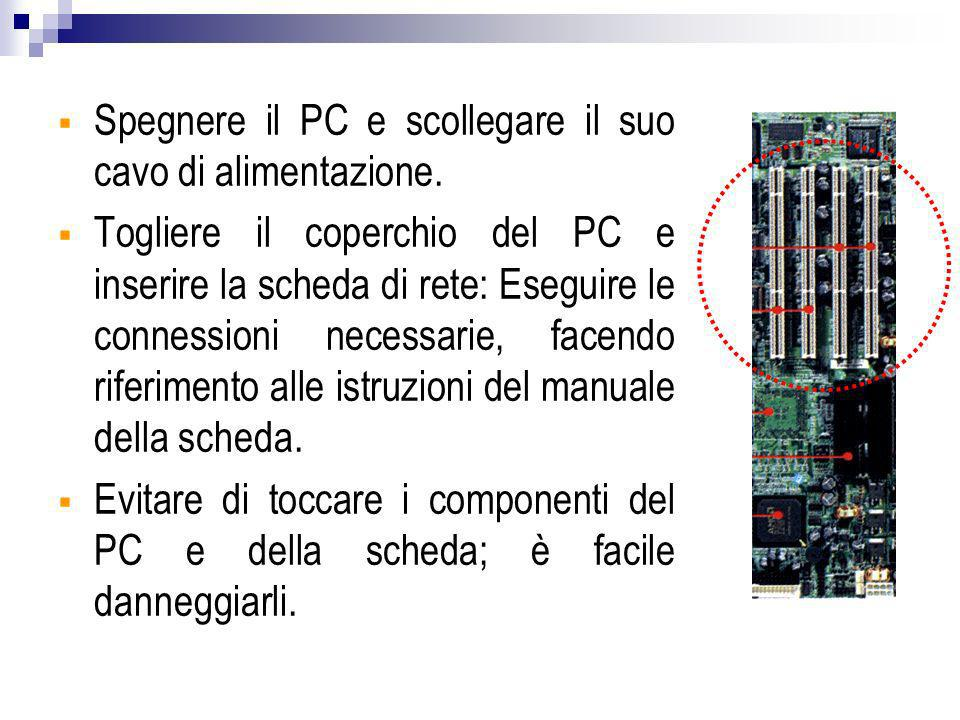 Filtro : blocca le trasmissioni di certe classi di dati Gateway: macchina/e che provvede ai servizi per compensare l effetto del filtro SCHEMA DI UN FIREWALL GATEWAY RETEFILTRO RETE INTERNAESTERNA