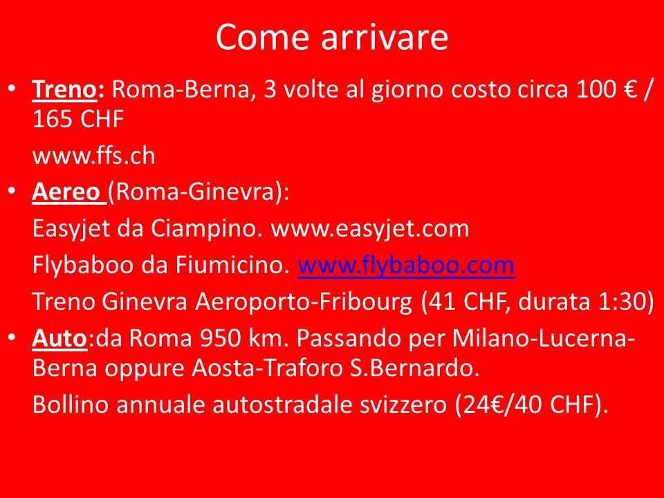 Città bilingue: 70% francese - 30% tedesco 34 km da Berna – 74 km da Losanna – 138 km da Ginevra (Aeroporto)