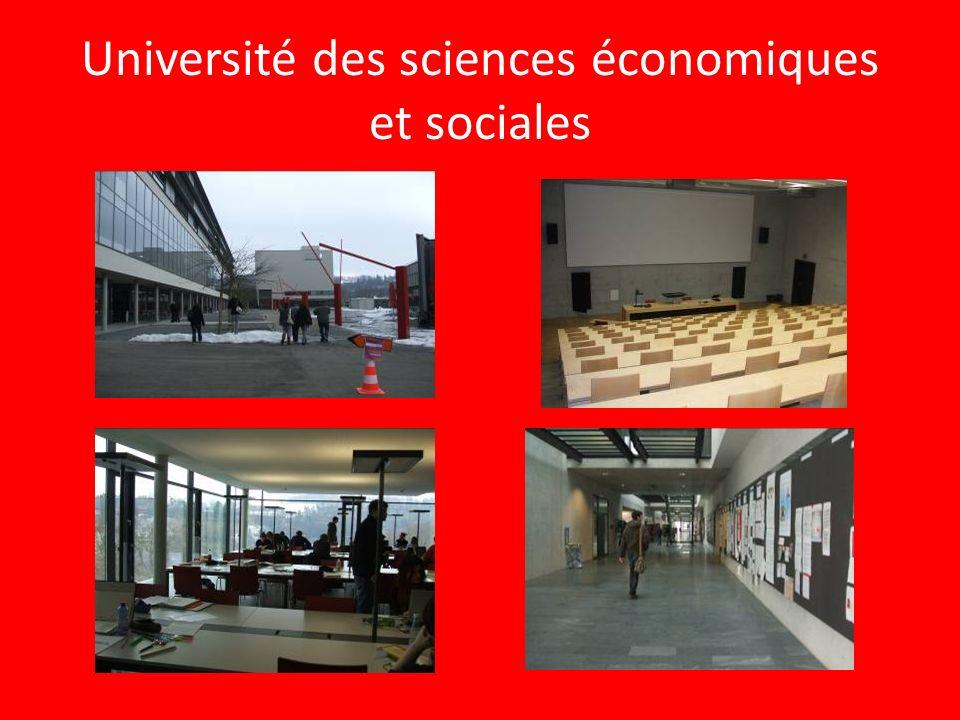 Università TRI-lingue Sono disponibili corsi di Bachelor e di Master sia in francese che in tedesco. Inoltre ci sono molti altri corsi in inglese tra