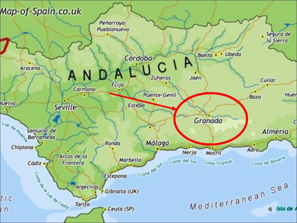 COME ARRIVARE Purtroppo Granada non ha collegamento aereo diretto da Roma.