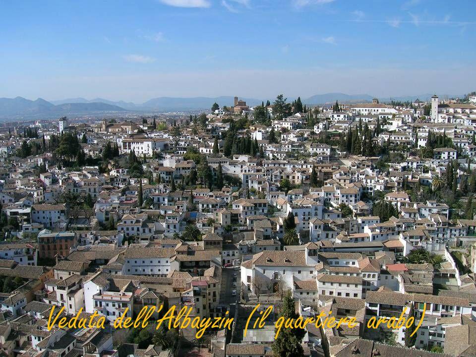 Veduta dellAlbayzin (il quartiere arabo)