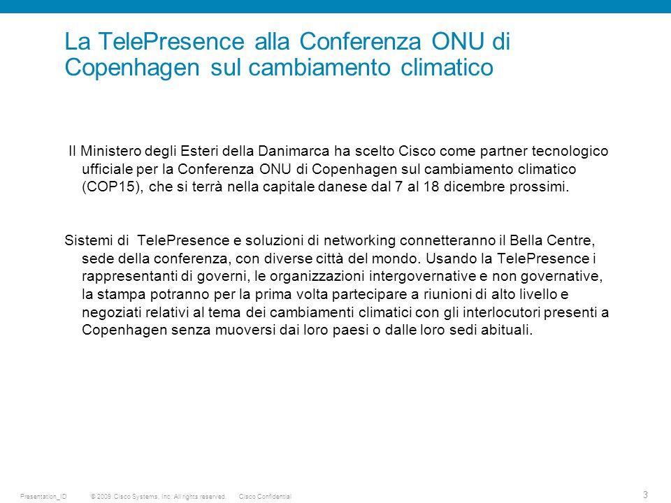 © 2009 Cisco Systems, Inc. All rights reserved.Cisco ConfidentialPresentation_ID 4