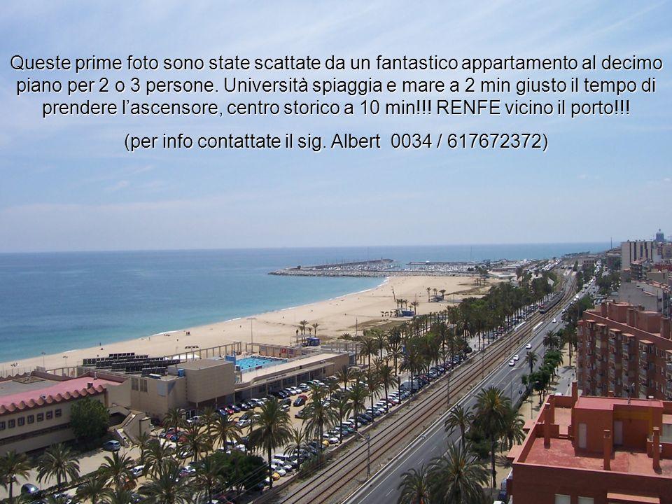 Queste prime foto sono state scattate da un fantastico appartamento al decimo piano per 2 o 3 persone. Università spiaggia e mare a 2 min giusto il te