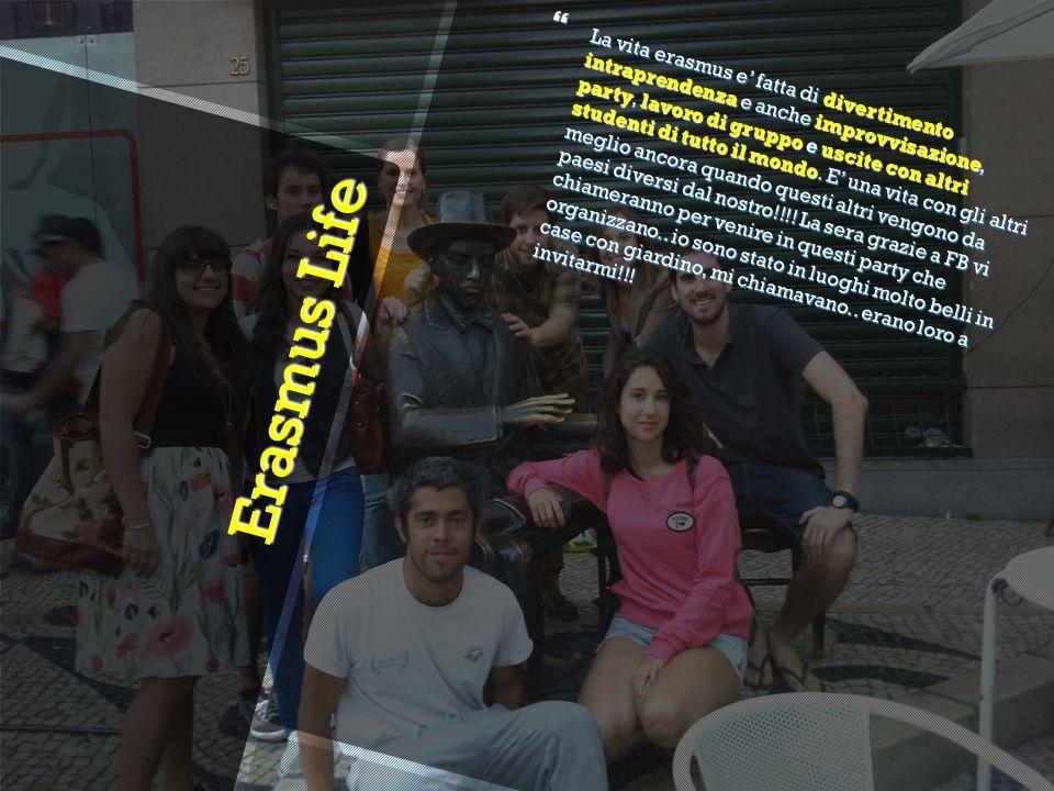 Erasmus Life La vita erasmus e fatta di divertimento intraprendenza e anche improvvisazione, party, lavoro di gruppo e uscite con altri studenti di tutto il mondo.