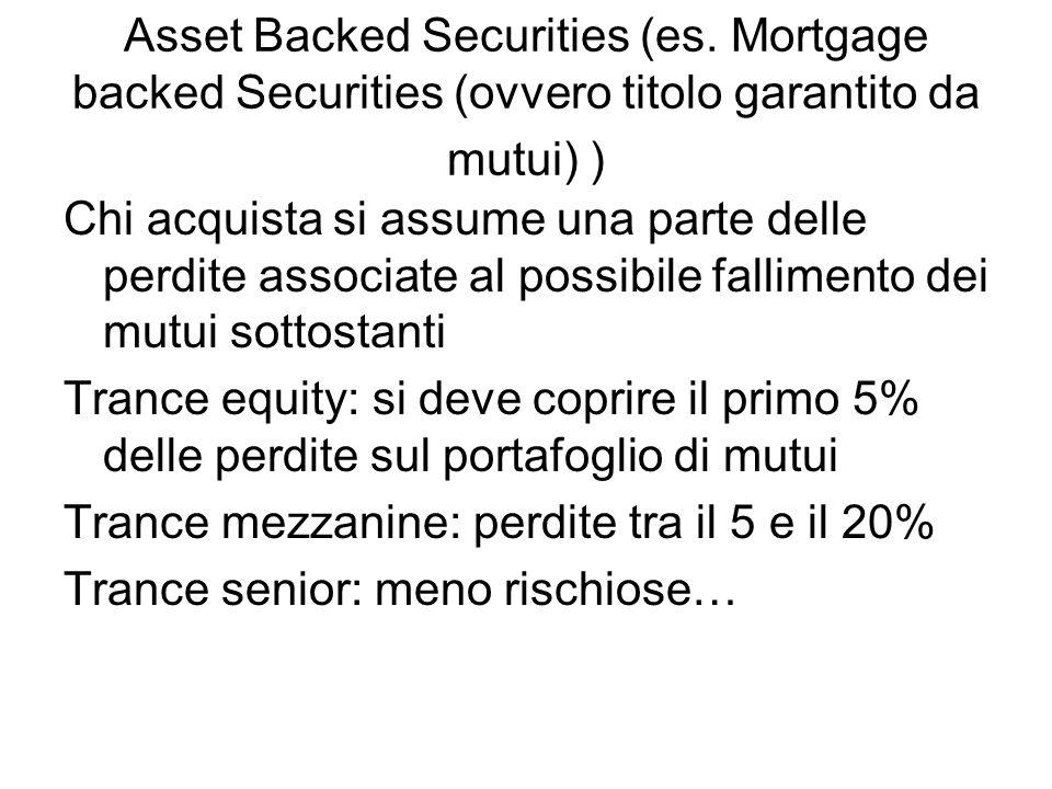 La società veicolo guadagna il differenziale tra i tassi di interesse dei mutui originari e quelli dei coupon della tranche