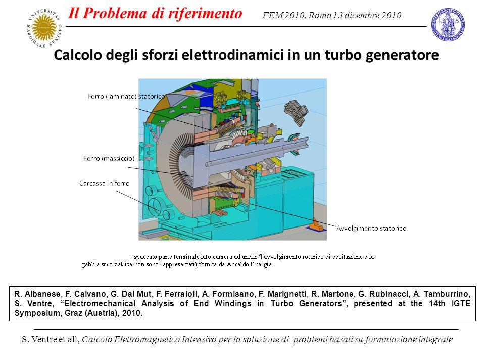 FEM 2010, Roma 13 dicembre 2010 S. Ventre et all, Calcolo Elettromagnetico Intensivo per la soluzione di problemi basati su formulazione integrale Il