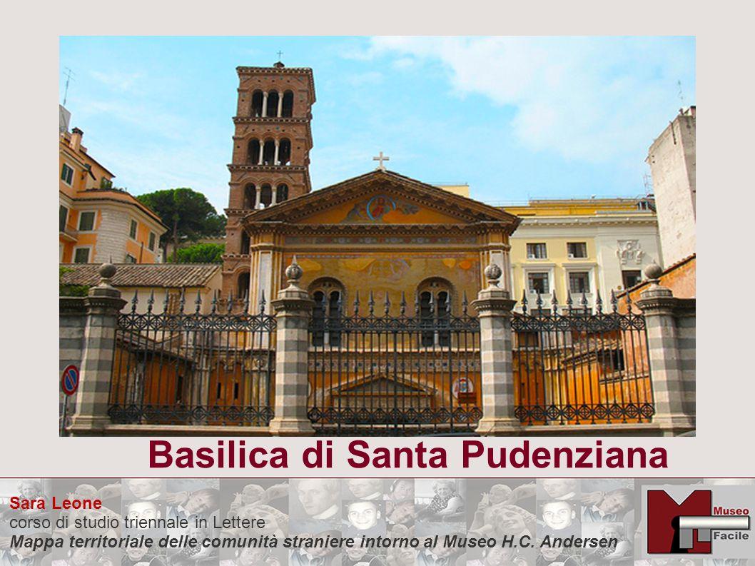 Sara Leone corso di studio triennale in Lettere Mappa territoriale delle comunità straniere intorno al Museo H.C. Andersen Basilica di Santa Pudenzian