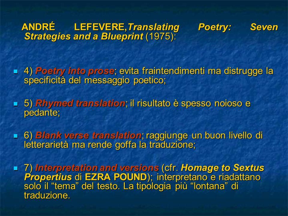 Conclusioni: Conclusioni: - Itinerario rifrattivo - Itinerario rifrattivo - Domesticating Auden - Domesticating Auden - Scelta di poesie Simpatiche (crf.