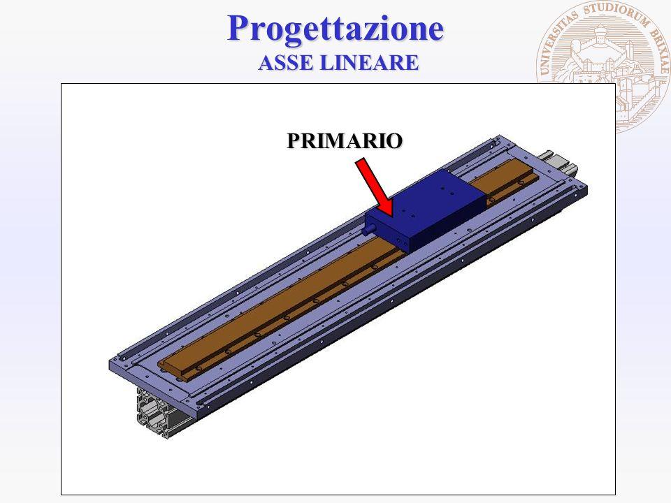 Progettazione ASSE LINEARE PRIMARIO