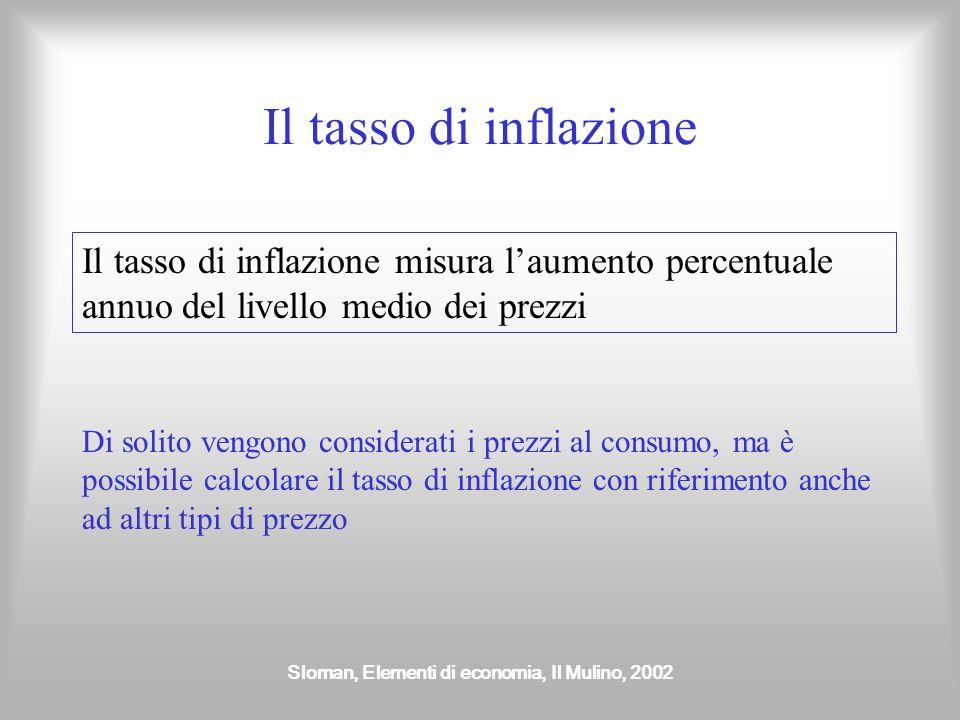 Sloman, Elementi di economia, Il Mulino, 2002 Lequilibrio macroeconomico Si ha nel punto di intersezione tra domanda e offerta aggregata Prodotto nazi