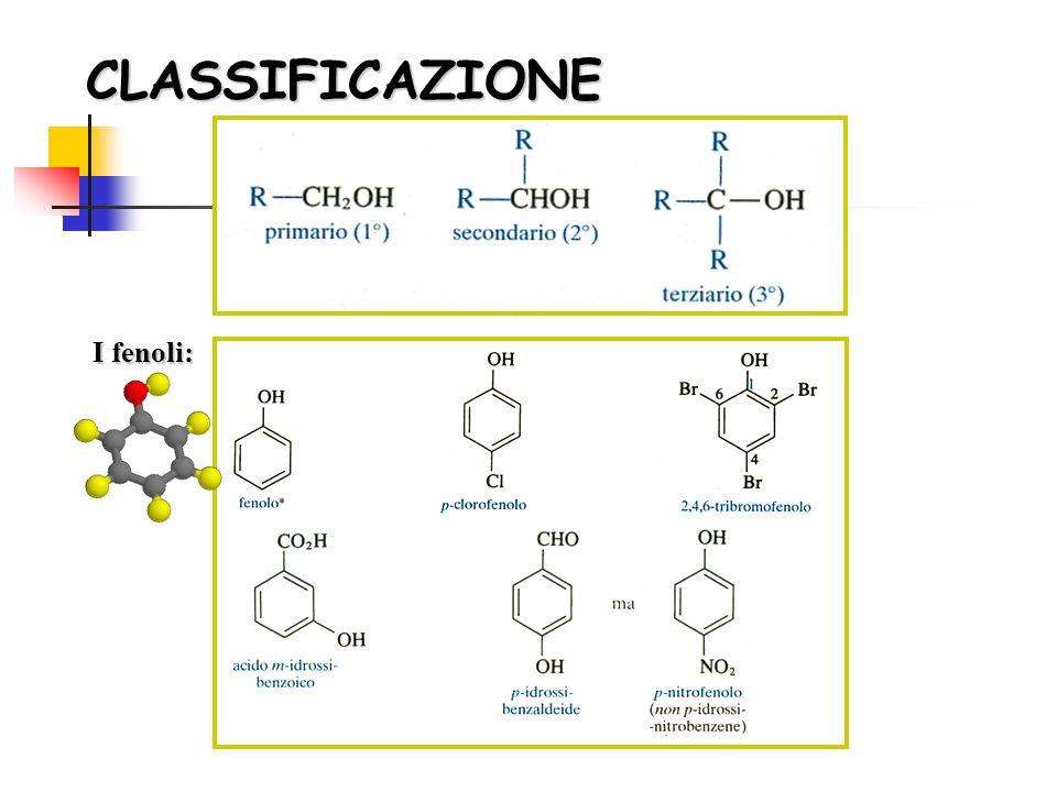2 2 2 2 2 2 alcoli che i fenoli reagiscono con i metalli alcalini dando, alcolati e fenati.