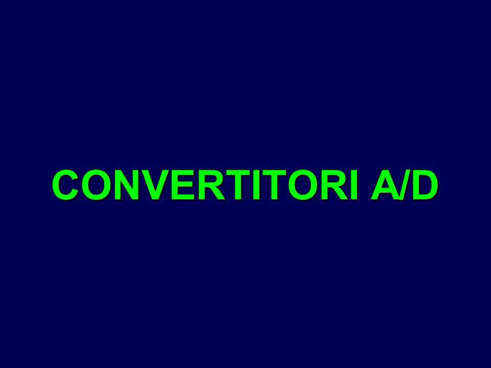 CONVERTITORI A/D