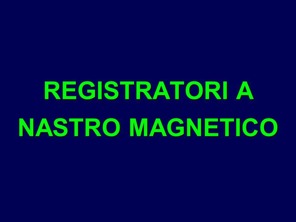 REGISTRATORI A NASTRO MAGNETICO
