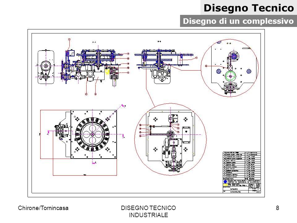 Chirone/TornincasaDISEGNO TECNICO INDUSTRIALE 9 Norme per il disegno tecnico Tipi di linee